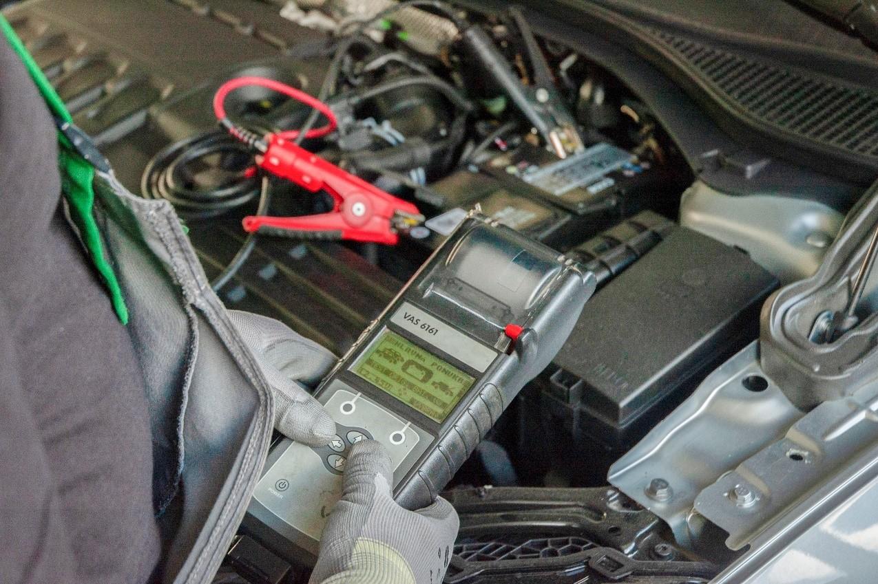 Obrazk pre sluzbu - Test autobatérie