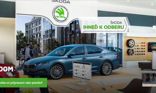 LIVE SHOWROOM ŠKODA