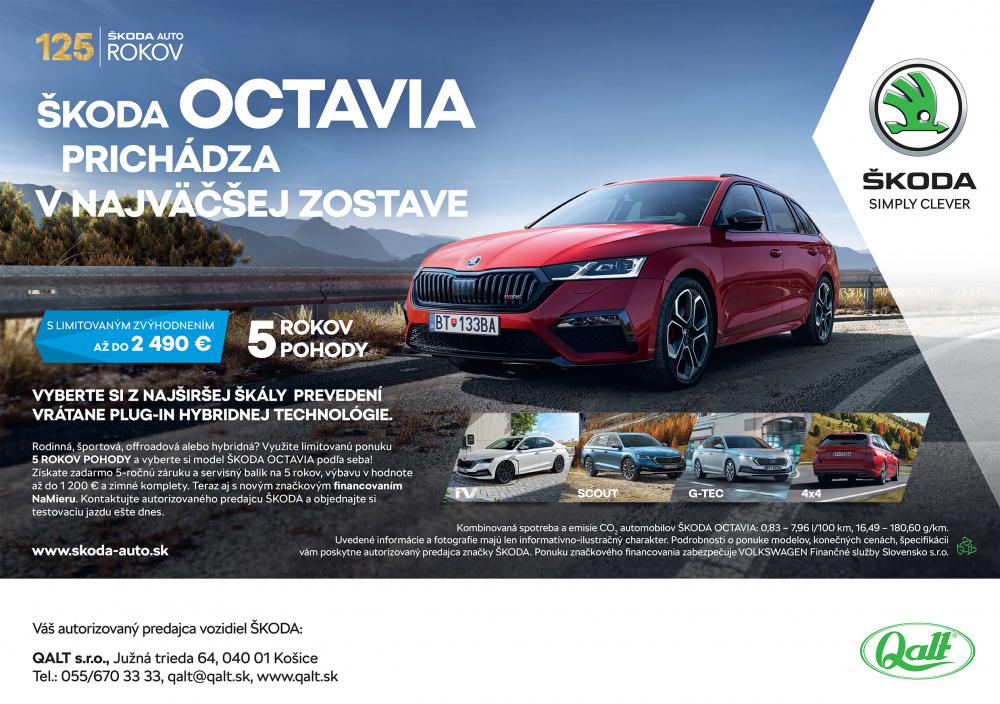 NOVÁ ŠKODA OCTAVIA - Obrazok